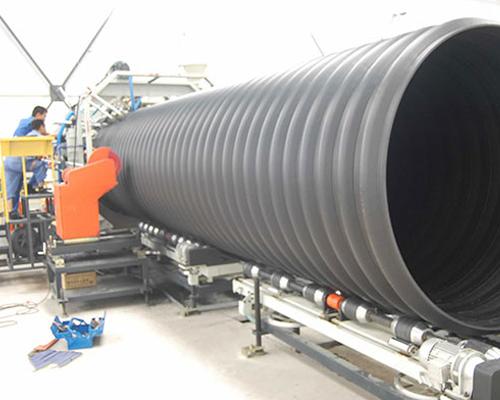 HDPE钢带管案例